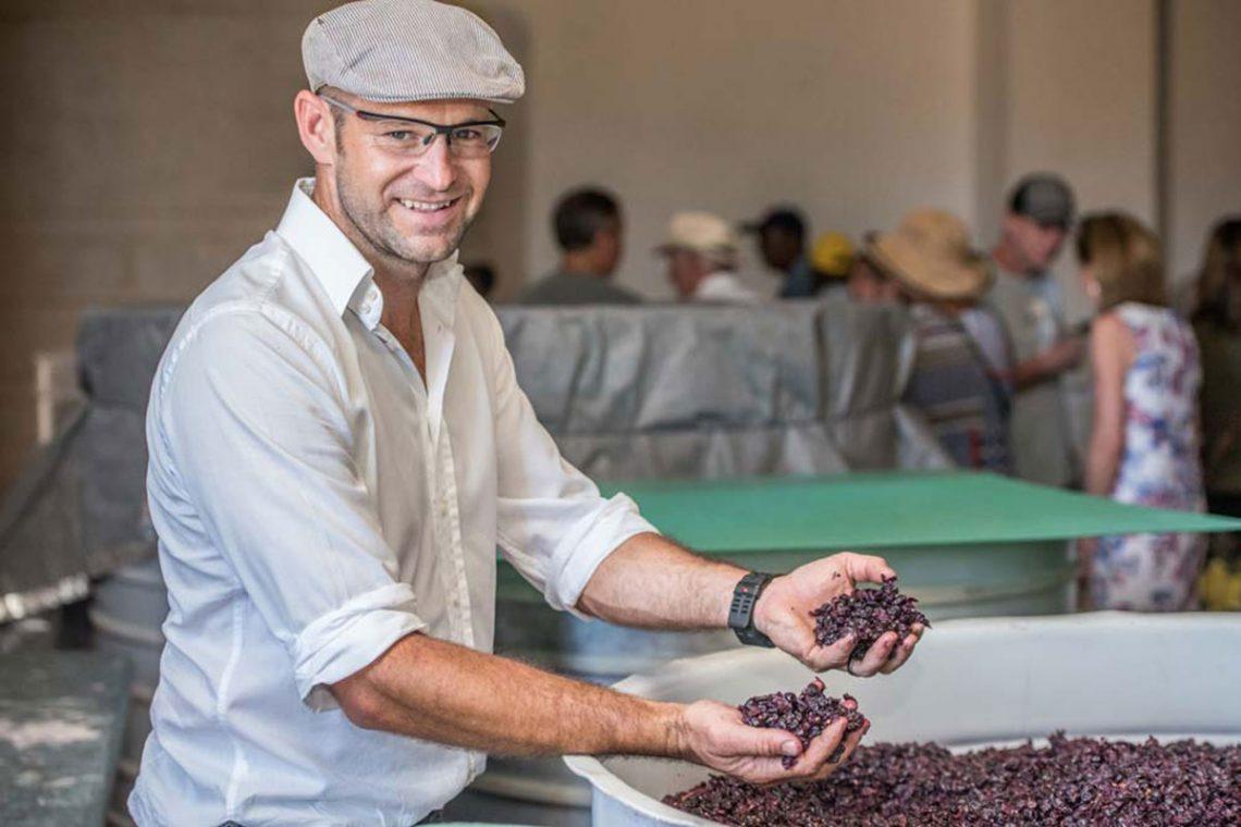 Wein, der auf Felsen wächst: Winzer Lourens van der Westhuizen